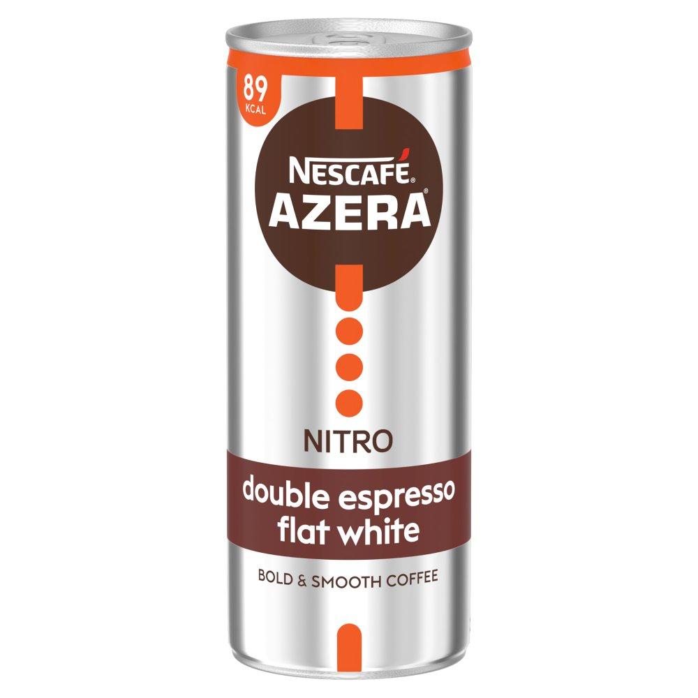 Nescafe Azera Nitro Double Espresso Flat White Cold Coffee 250ml
