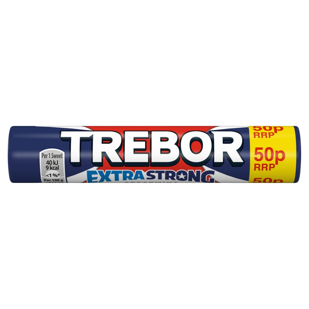 Trebor Extra Strong Spearmint PM 50p