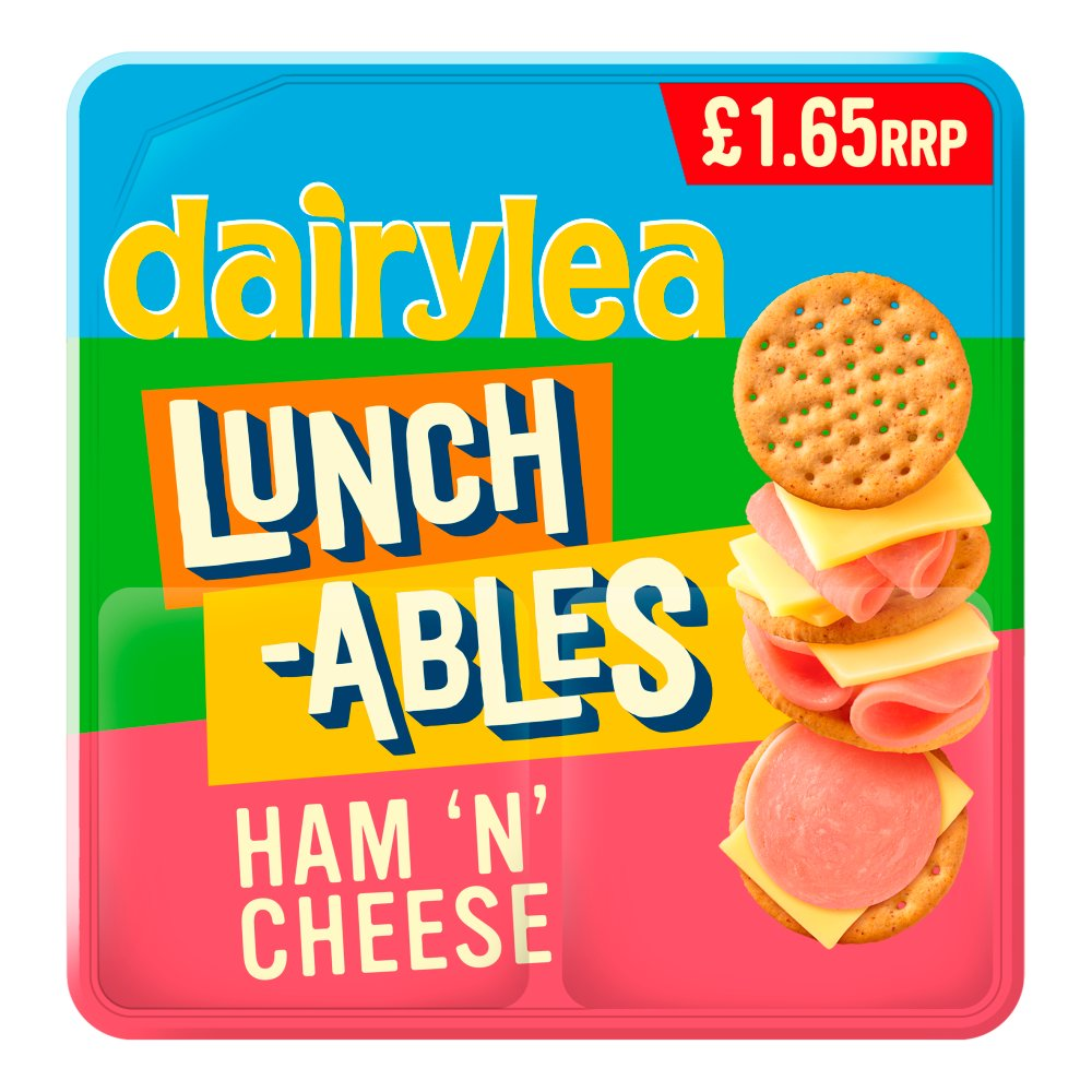 Dairylea Lunchables Ham 'n' Cheese Stackers £1.65 83.4g