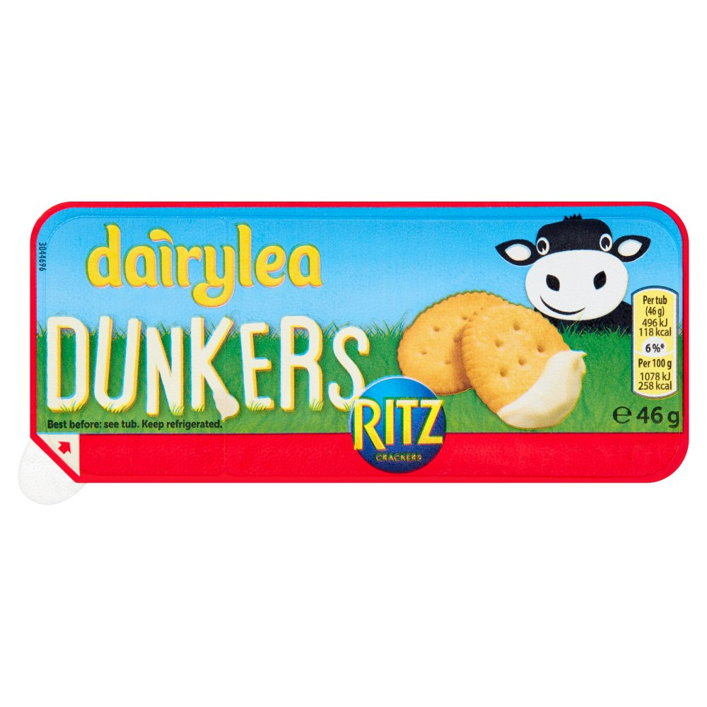Dairylea Dunkers Ritz PM 69p