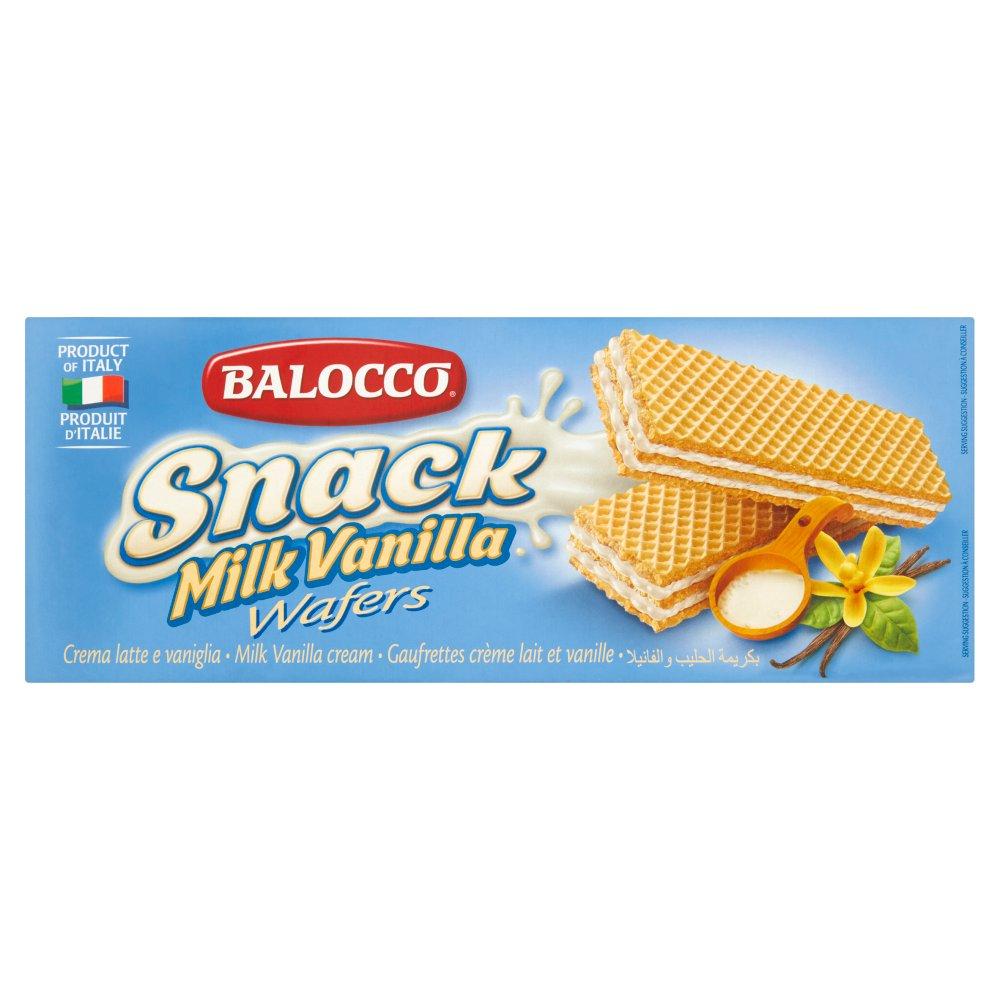 Balocco Snack Milk Vanilla Wafers 30 x 45g (1350g)