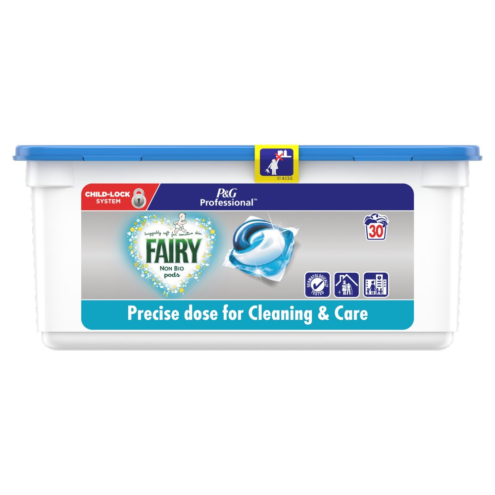 Fairy Non Bio Pods Washing Liquid Capsules 90 Washes