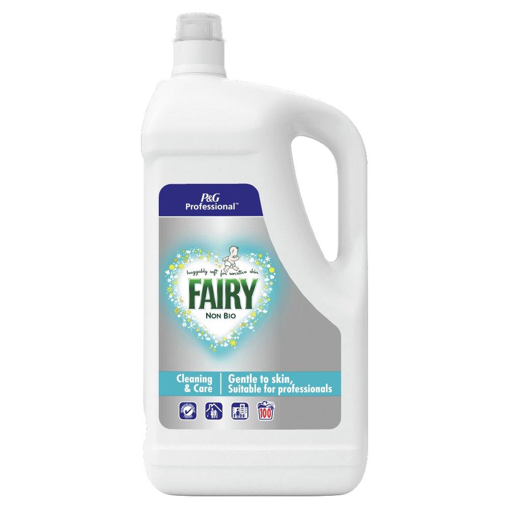 Fairy Non-Bio Liquid Detergent 5L 100 Washes