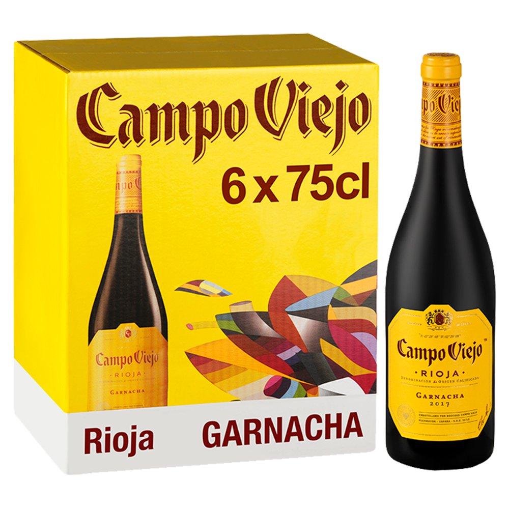 Campo Viejo Rioja Garnacha Red Wine 6 x 75cl