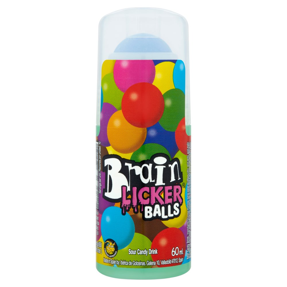 Brain Licker Balls Sour Candy Drink 60ml