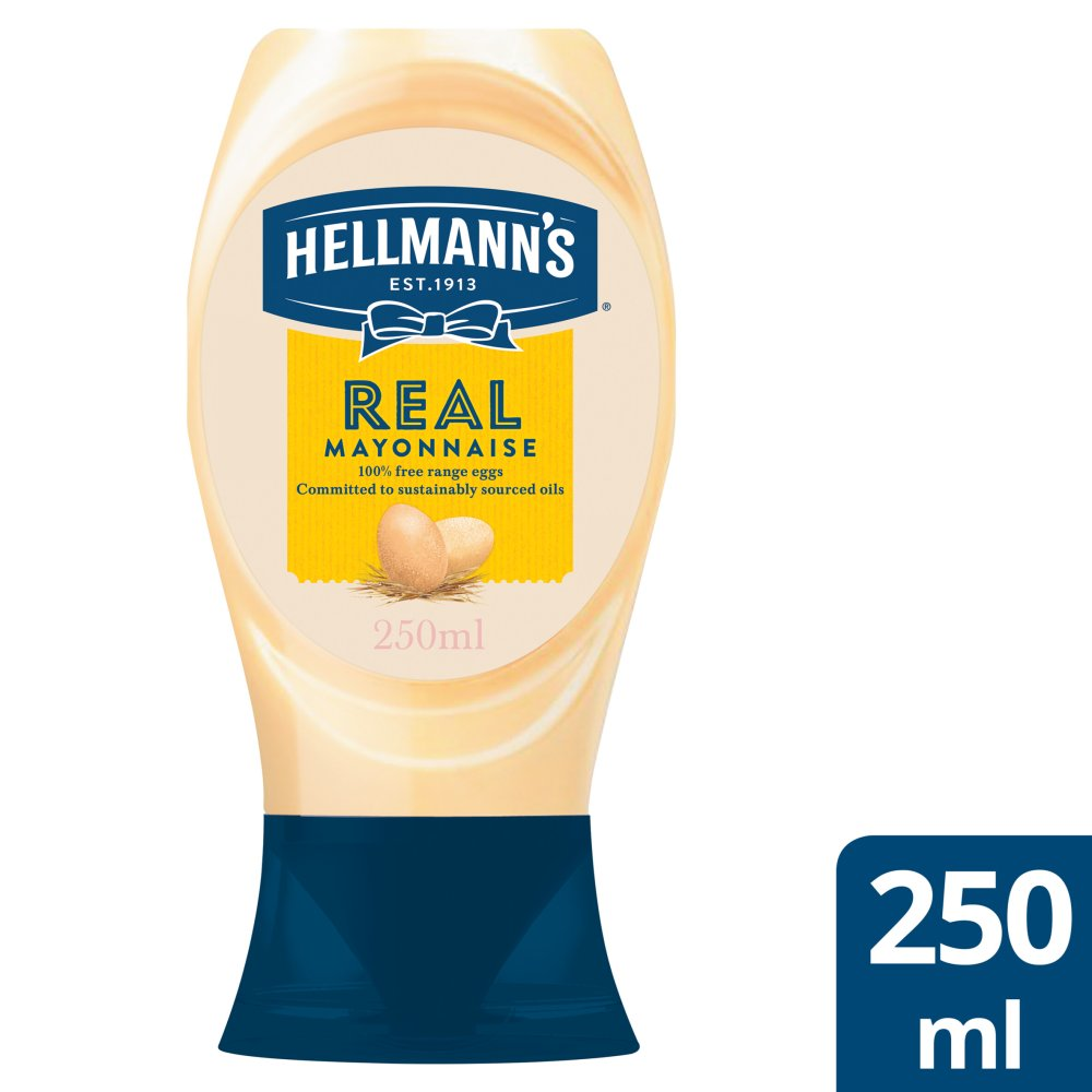 Helmanns Squeezy Real Mayonnaise