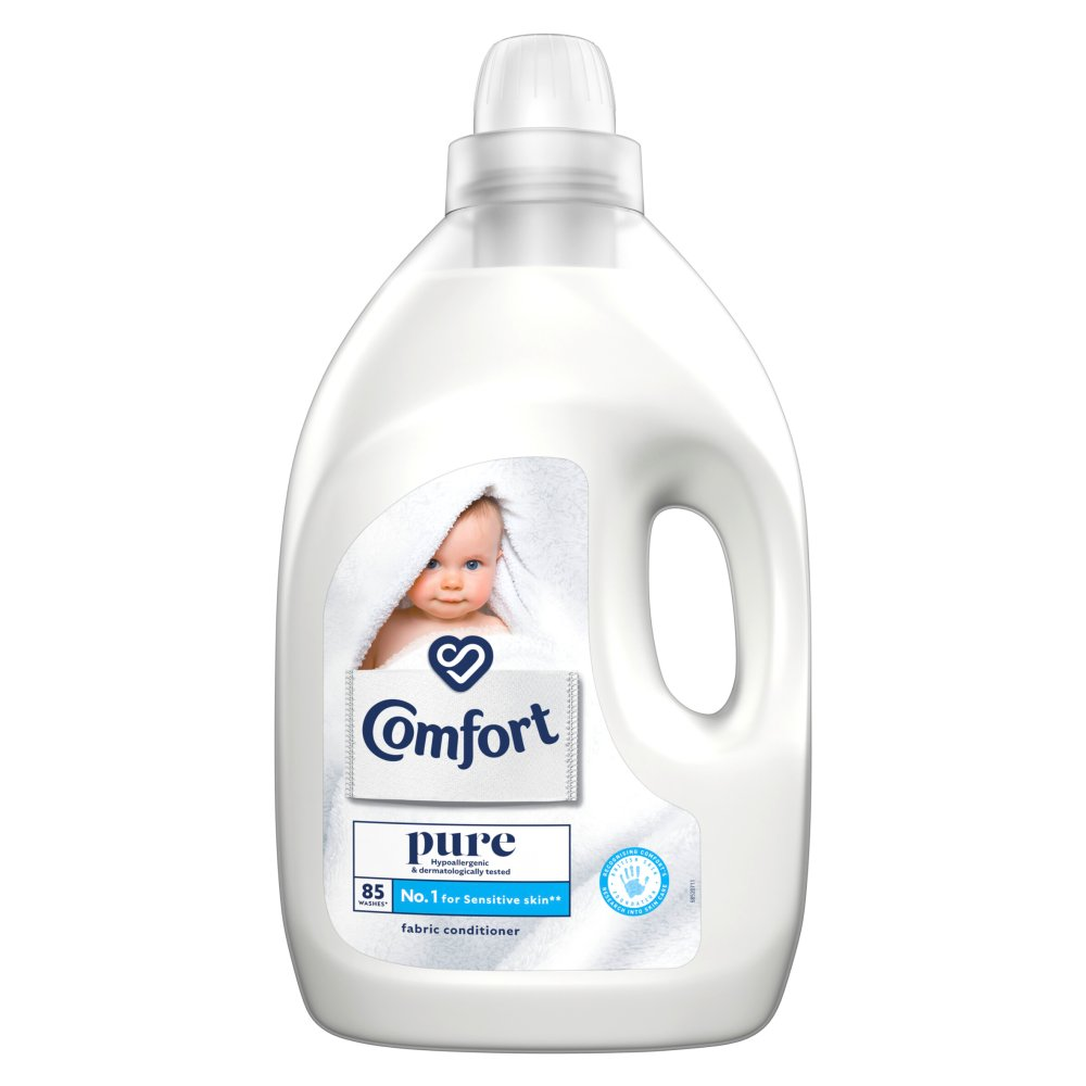 Comfort Pure Fabric Conditioner 85 Wash 3 l