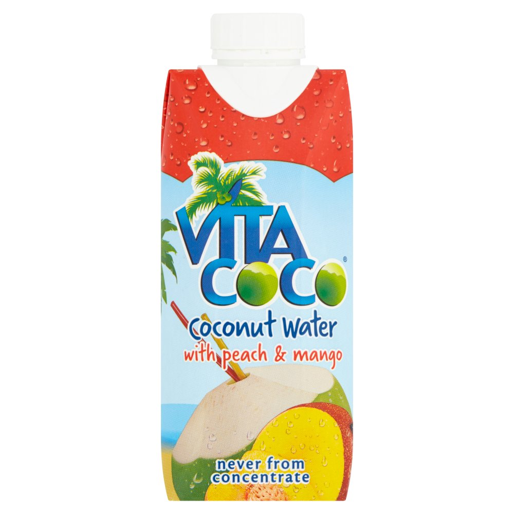 Vita Coco Natural Coconut Water With Peach & Mang