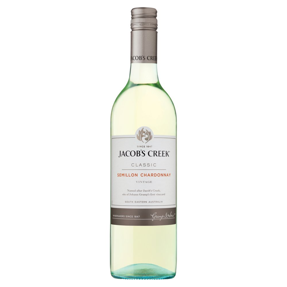 Jacob's Creek Semillon-Chardonnay White Wine 75cl