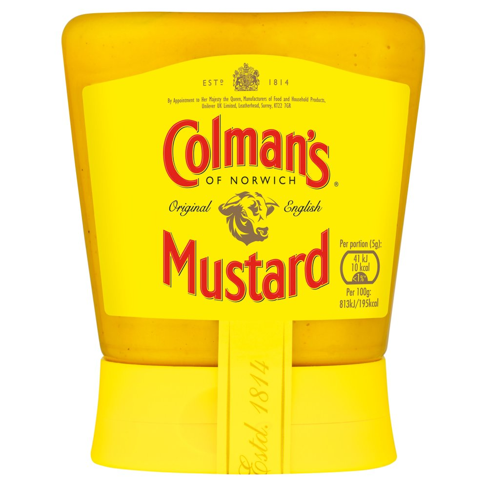 Colman's Squeezy English Mustard