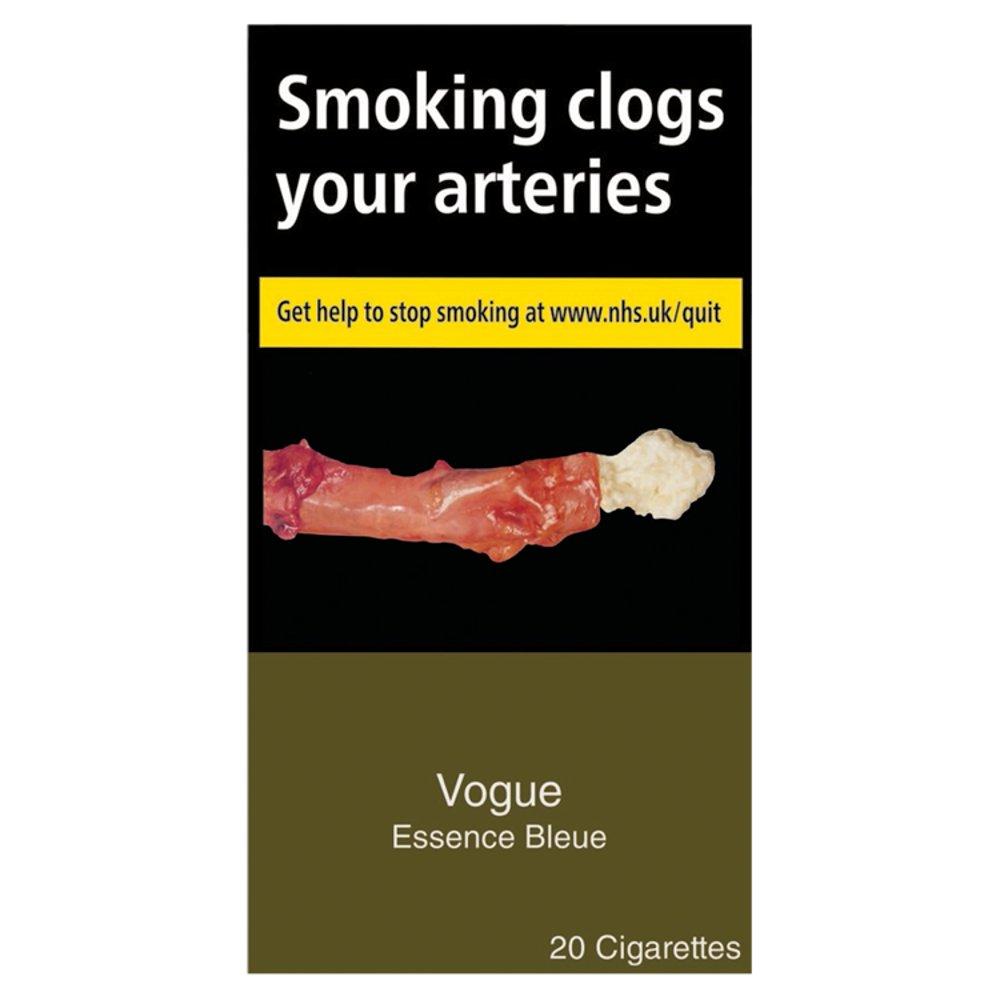 Vogue Blue 20 Cigarettes