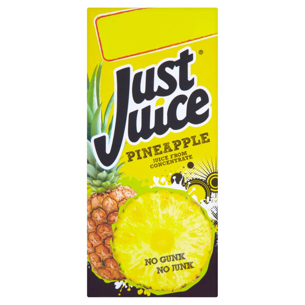 Just Juice Pineapple PM £1.29 Or 2 For £2