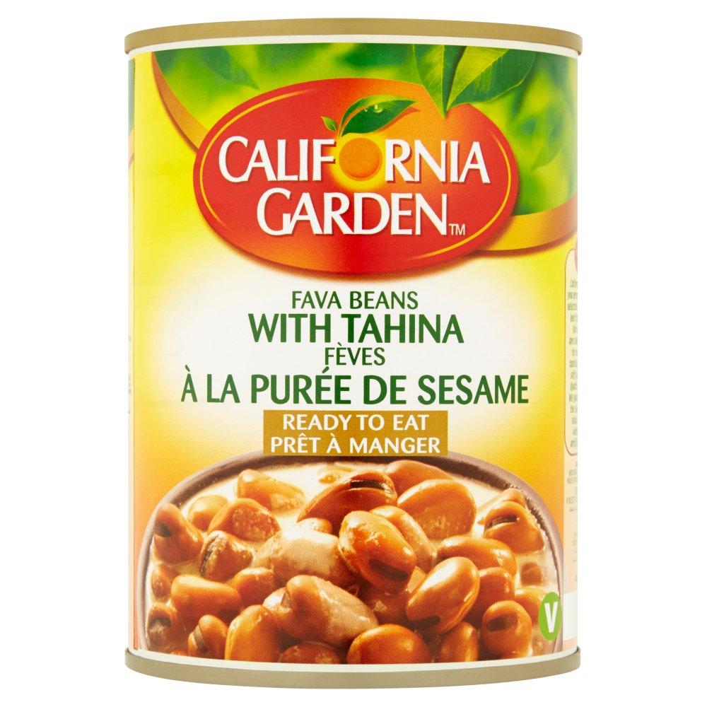 California Garden Fava Beans with Tahina 400g