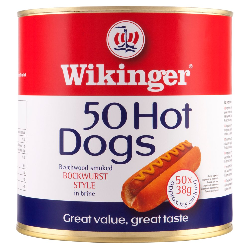 Wikinger Hot Dogs 50X38g