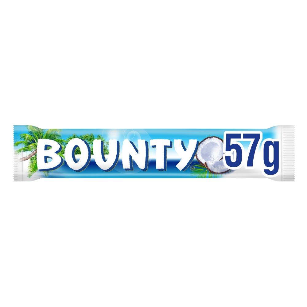 Bounty Coconut Milk Chocolate Duo Bar 57g