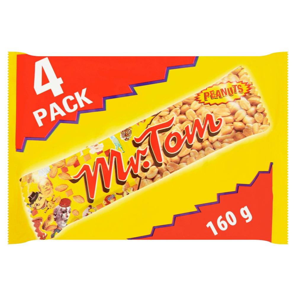 Mr. Tom Peanut Bar 4 x 40g (160g)