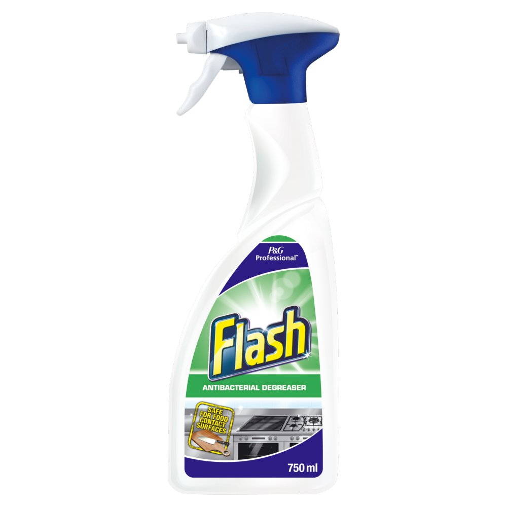 Flash Professional Disinfecting Degreaser Food Contact Surfaces 750ML