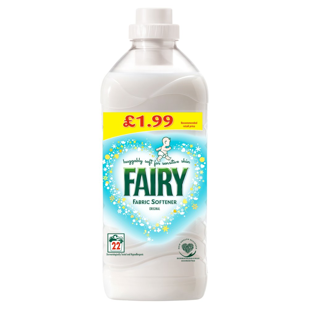Fairy Fabric Softener Original 550ml 22 Washes Bestway