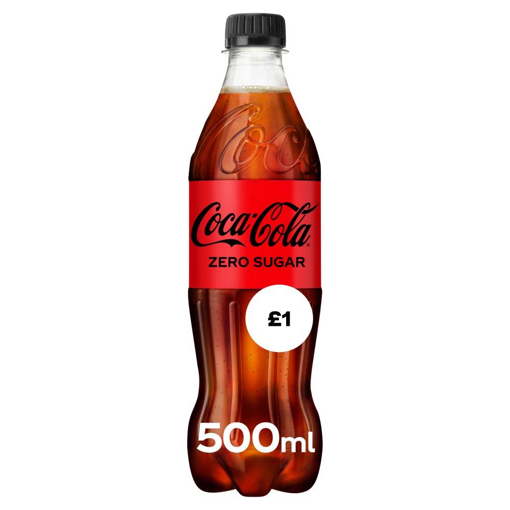 Coca-Cola Zero Sugar 500ml PM £1