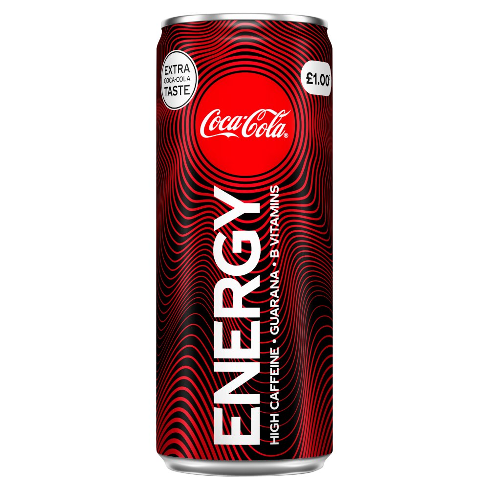 Coca-Cola Energy Drink 250ml PM £1