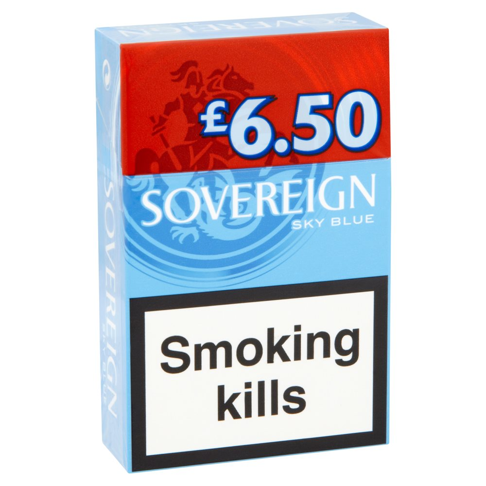 Sovereign King Size Sky Blue £6.50