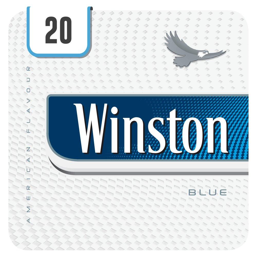 Winston Blue 20 Cigarettes Track & Trace Compliant
