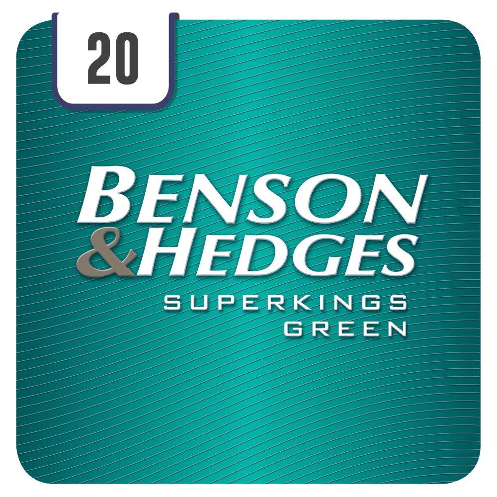 Benson & Hedges Superkings Green 20 Cigarettes