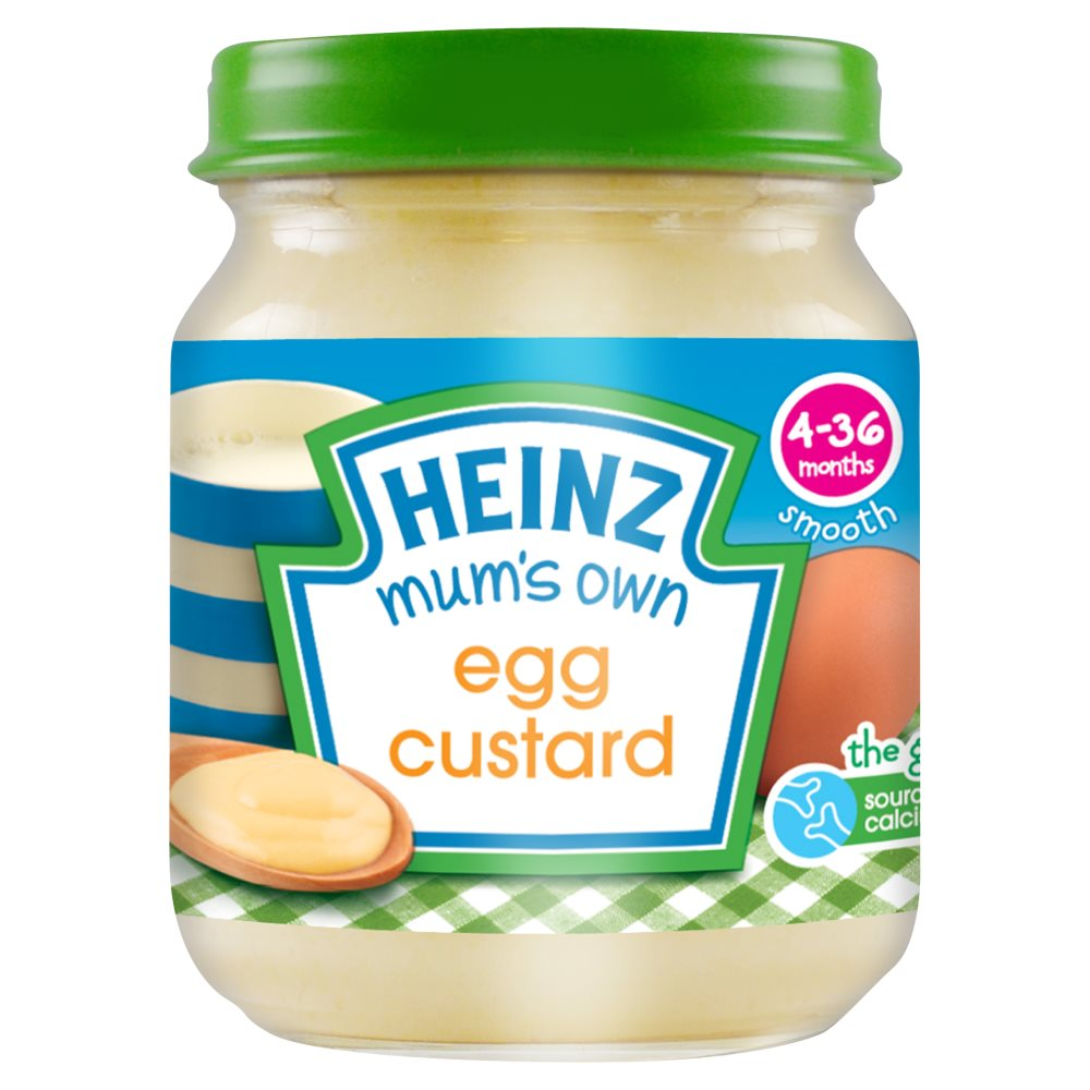 Heinz Egg Custard Jar
