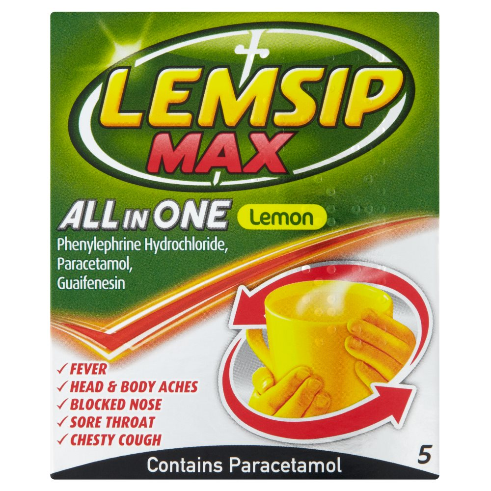 Lemsip All In One 5s