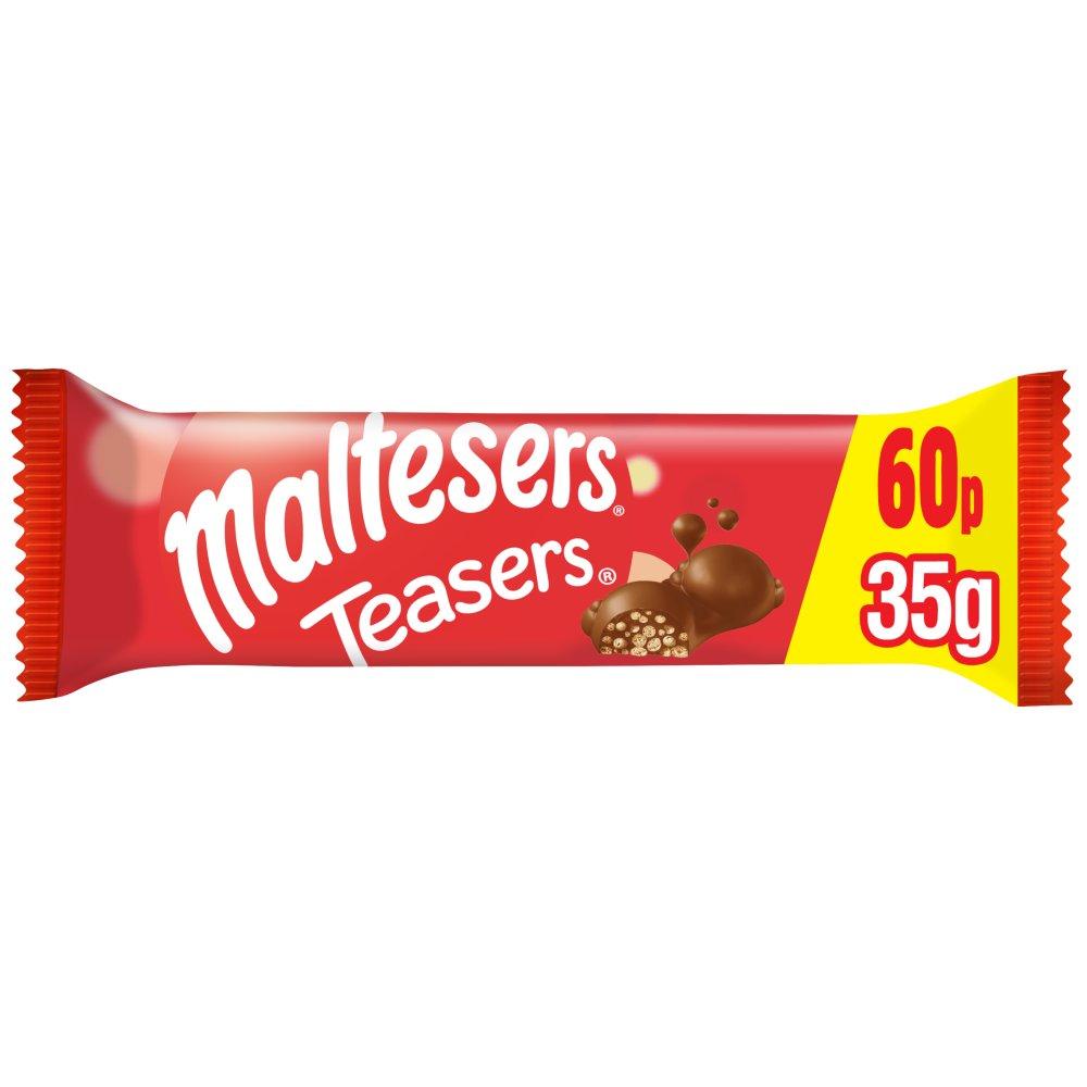 Maltesers Teasers Chocolate £0.60 PMP Bar 35g