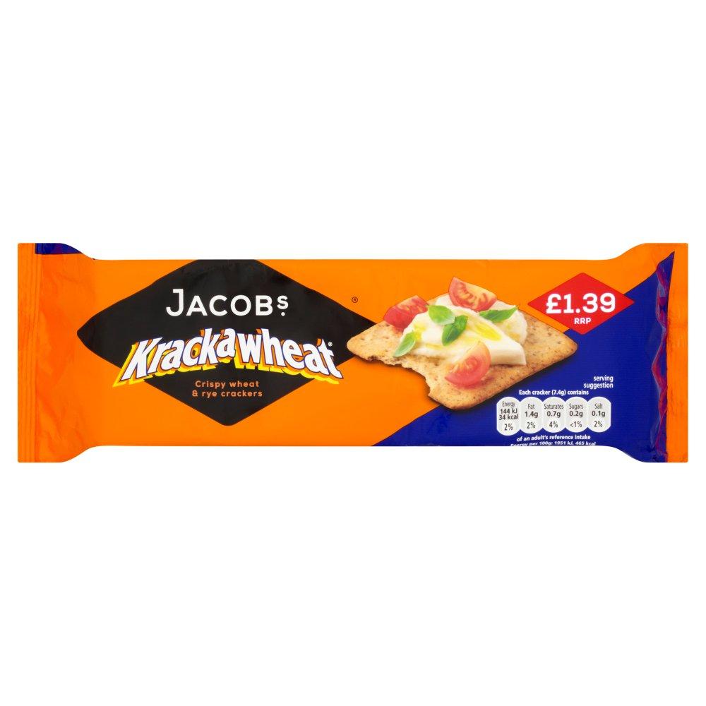 Jacob's Krackawheat Crispy Wheat & Rye Crackers 200g
