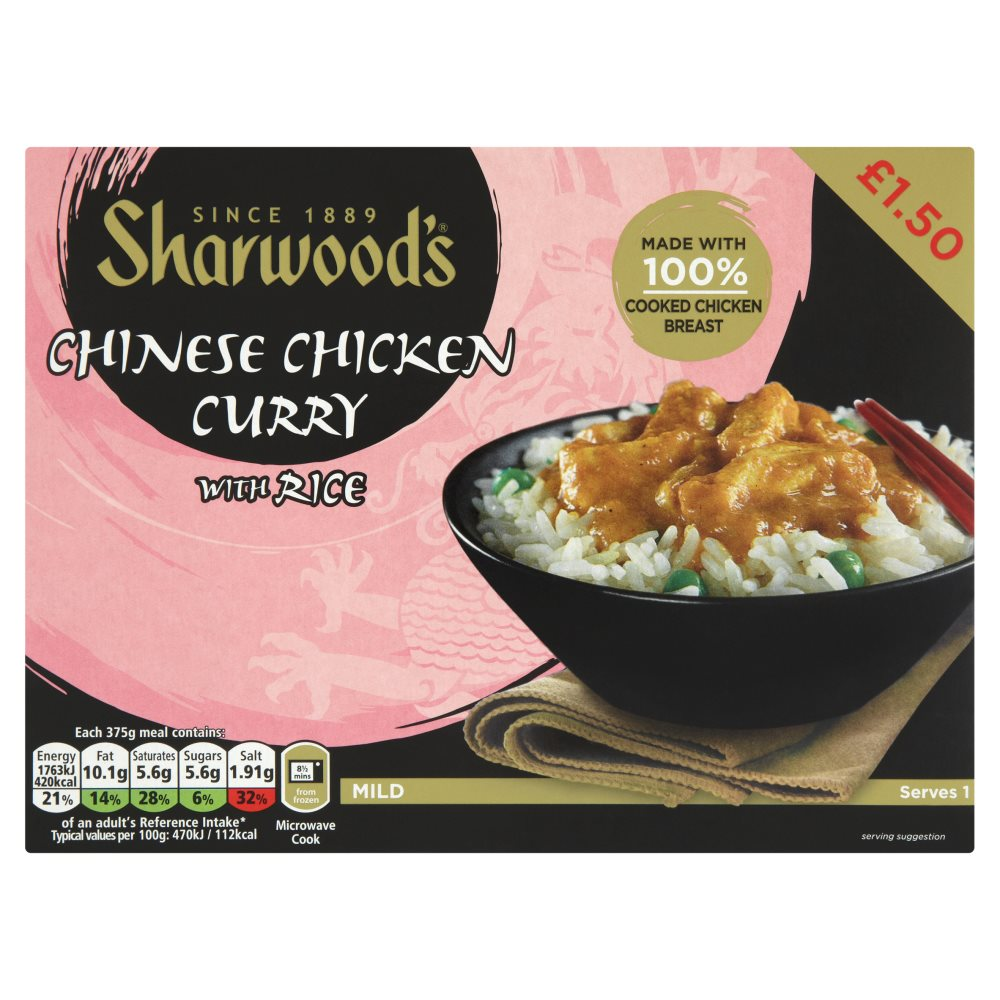 Sharwoods Chicken Curry PM £1.50