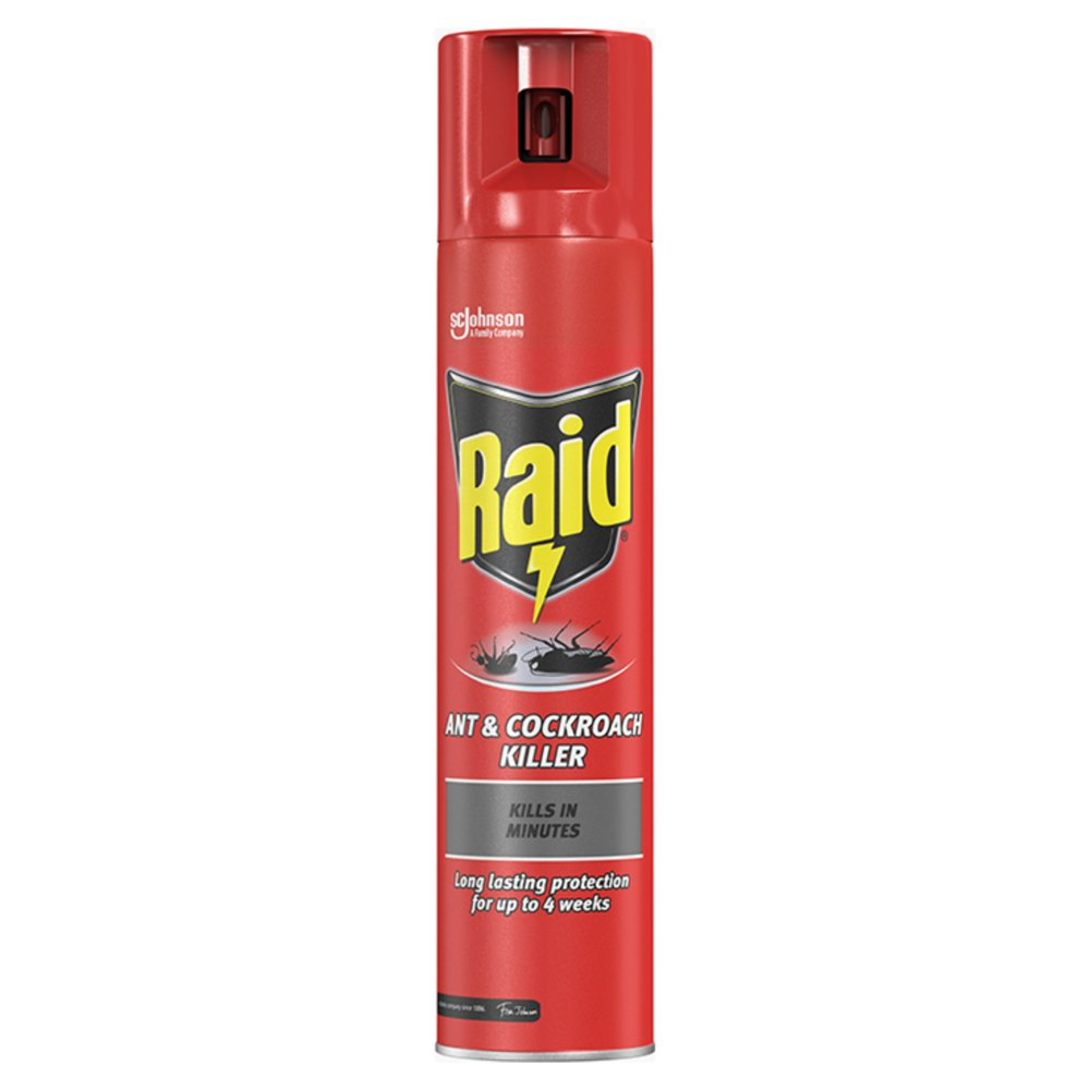 Raid Ant & Cockroach Insect Killer 300ml