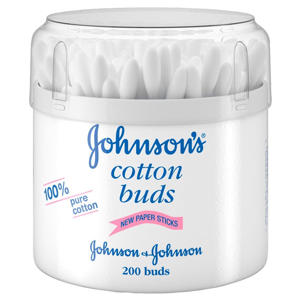 JOHNSON'S® Baby Cotton Buds 200 buds :: Bestway Wholesale