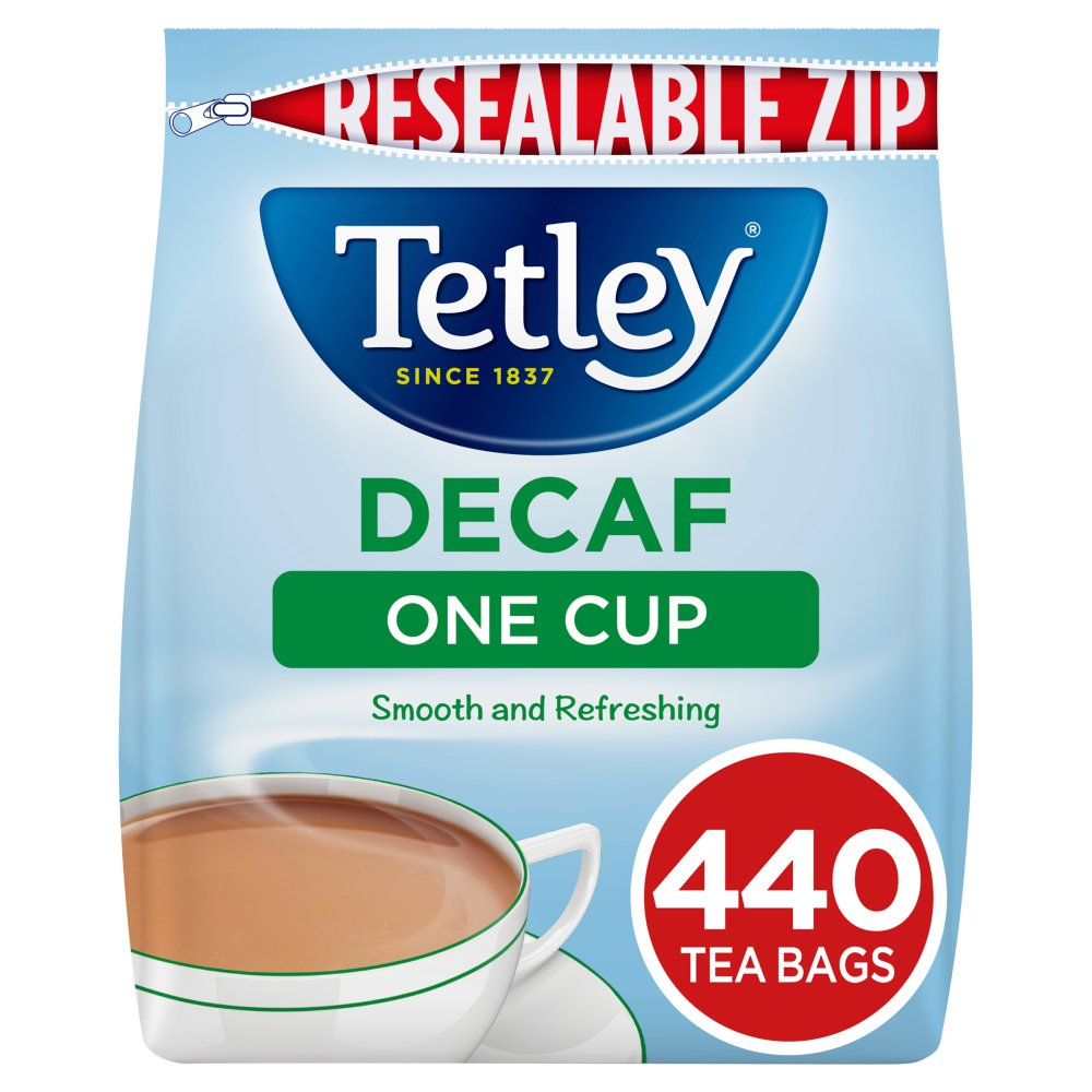 Tetley Tea Bags Decaf 440