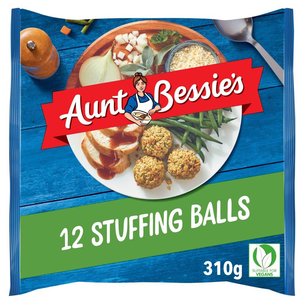 Aunt Bessie's 12 Sage & Onion Stuffing Balls 310g