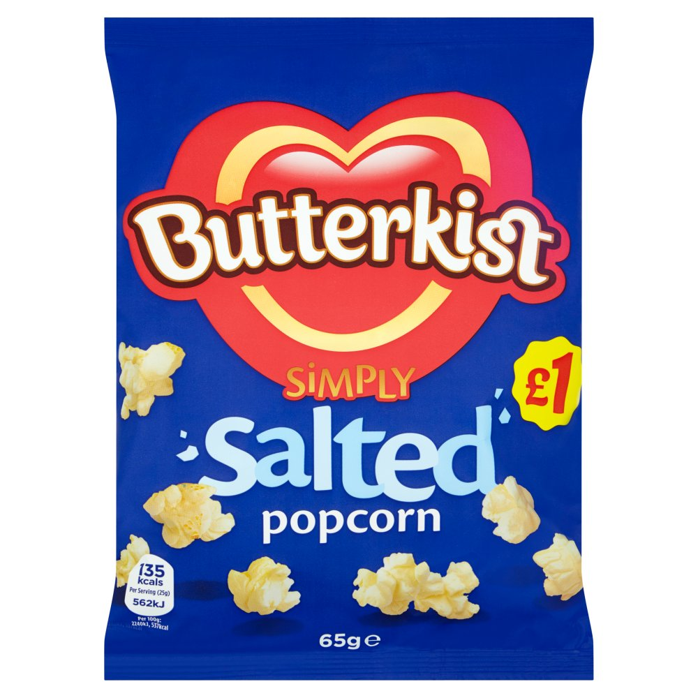 Butterkist Popcorn Salted PM £1