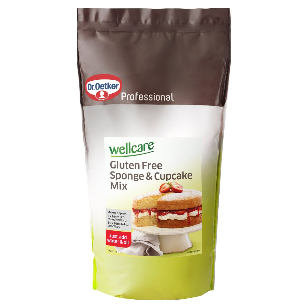 Wellcare Gluten Free Sponge & Cup Cake Mix