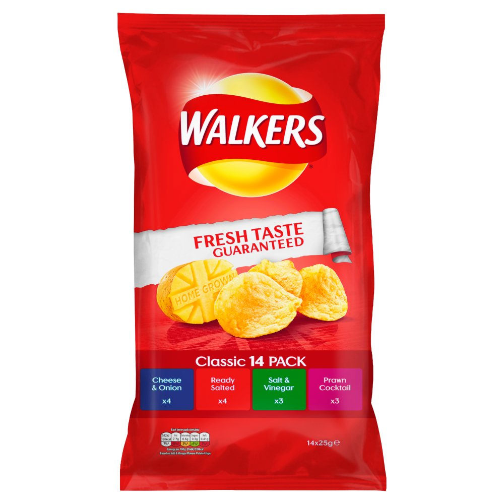 Walkers Classic Variety
