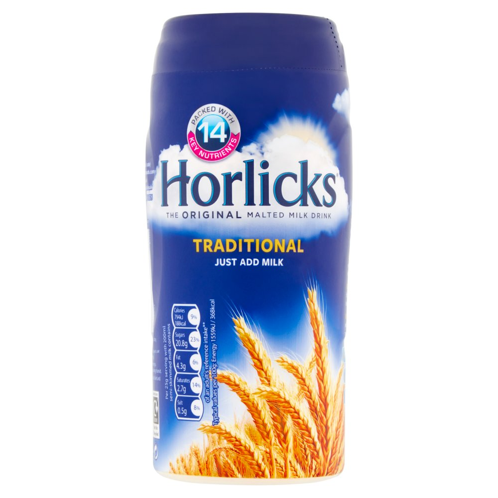 Horlicks Traditional Malt