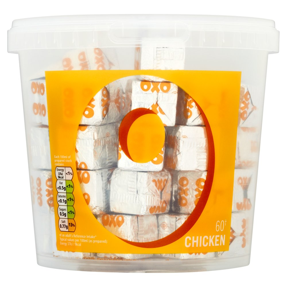 Oxo Chicken Stock Cubes x 60