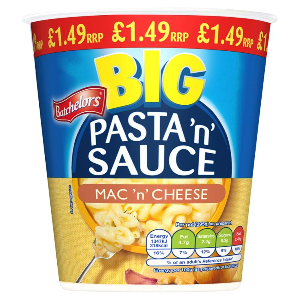 Batchelors Big Pasta 'n' Sauce Mac 'n' Cheese 85g