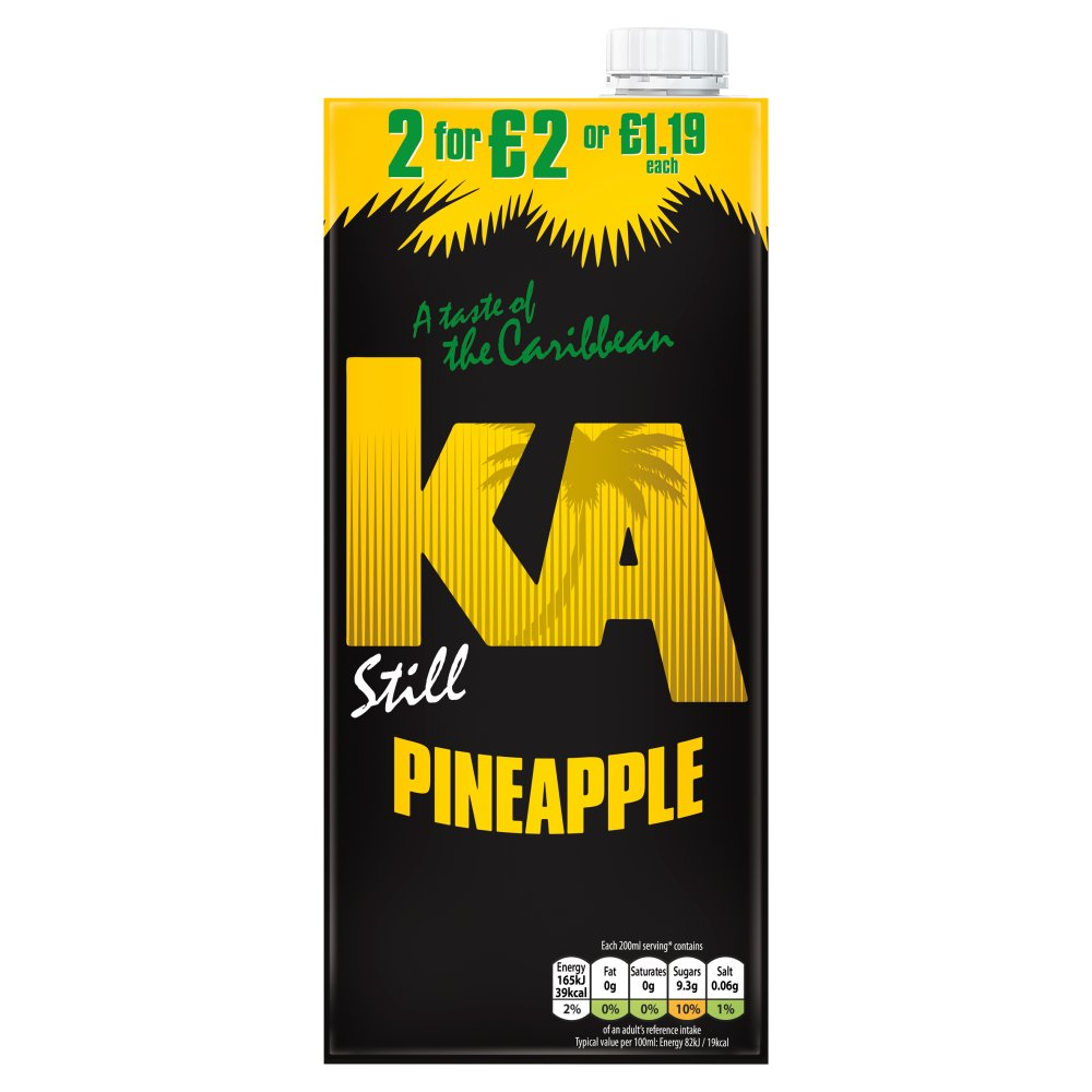 Ka Still Pineapple PM £1.19 Or 2 For £2
