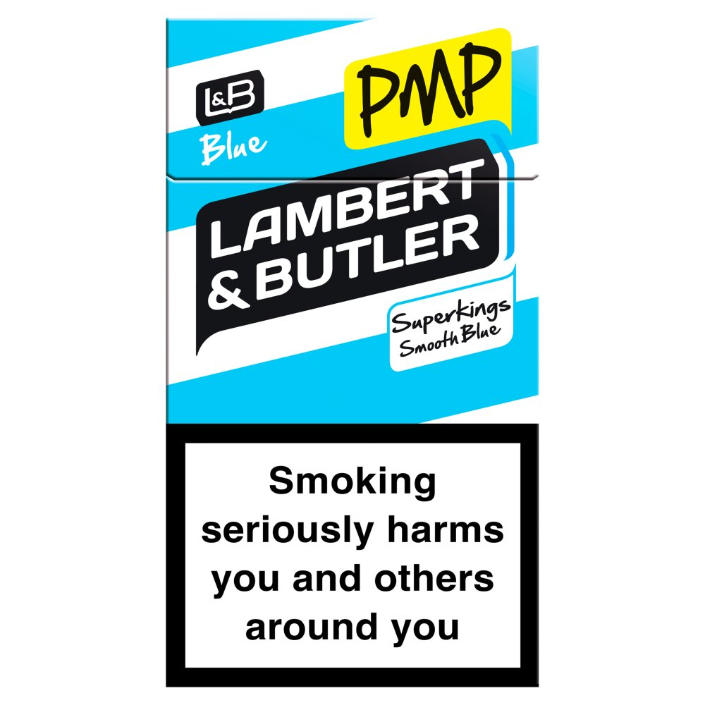 Lambert & Butler Superking Blue Smooth Blue £7.40