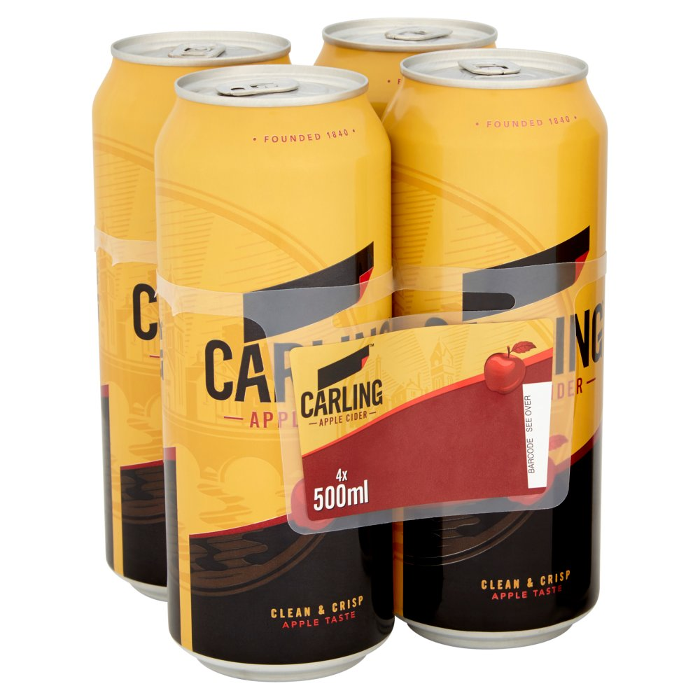 Carling Cider Can PM 4/ £4