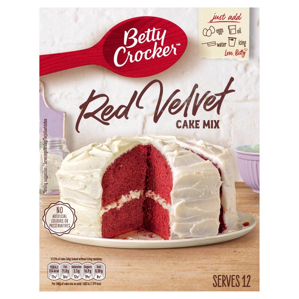 Betty Crocker Red Velvet Cake Mix 425g
