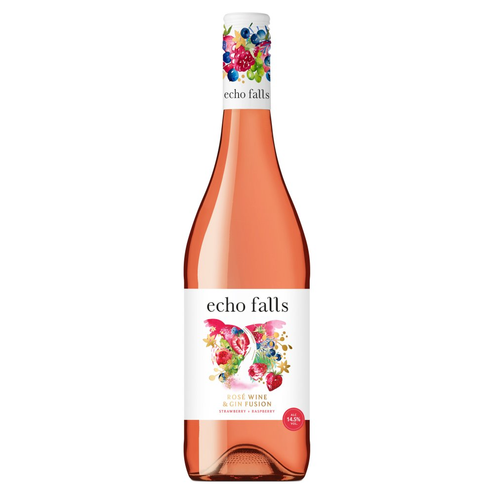 Echo Falls Rosé Wine & Gin Fusion 75cl