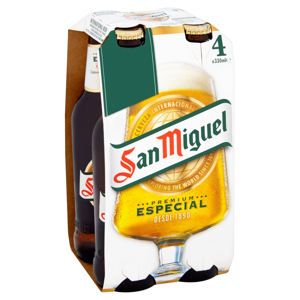 San Miguel Non Returnable Bottle PM 4 For £5
