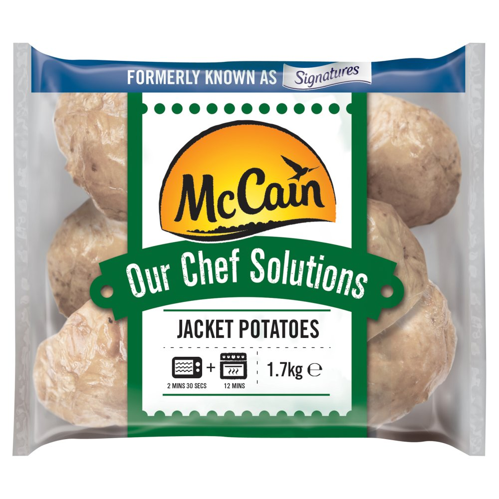 Mccain Our Chef Solutions Jacket Potatoes 162kg Bestway