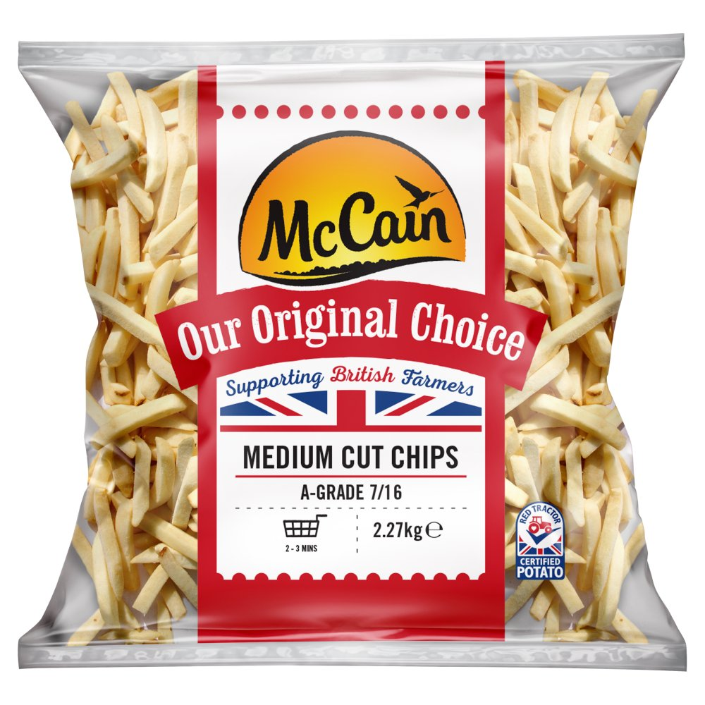 McCain Our Original Choice Medium Cut Chips 2 27kg